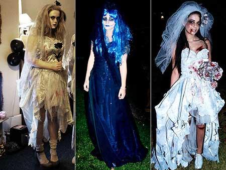 modelos de fantasias de noiva cadáver