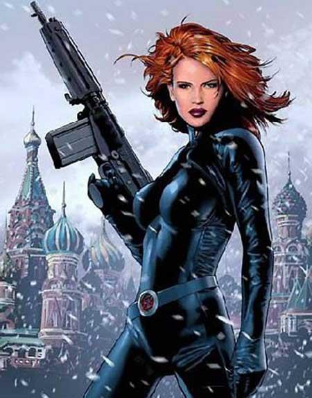 fantasias da viúva negra