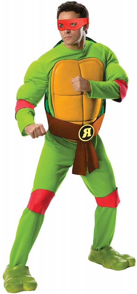 modelo de fantasia da tartarugas ninja