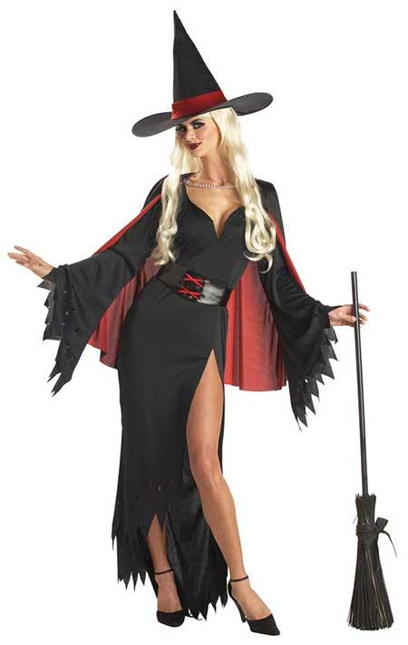 como fazer fantasia de bruxa