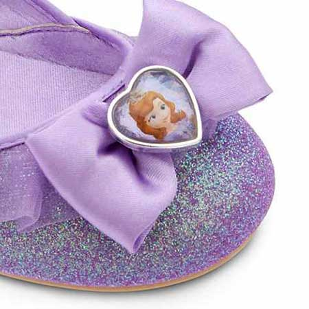 calçado de princesinha
