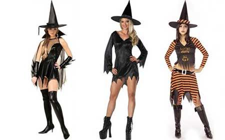 modelos de fantasia de bruxa