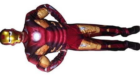 modelo de fantasia do homem de ferro