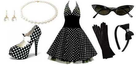modelos de vestido de bolinhas