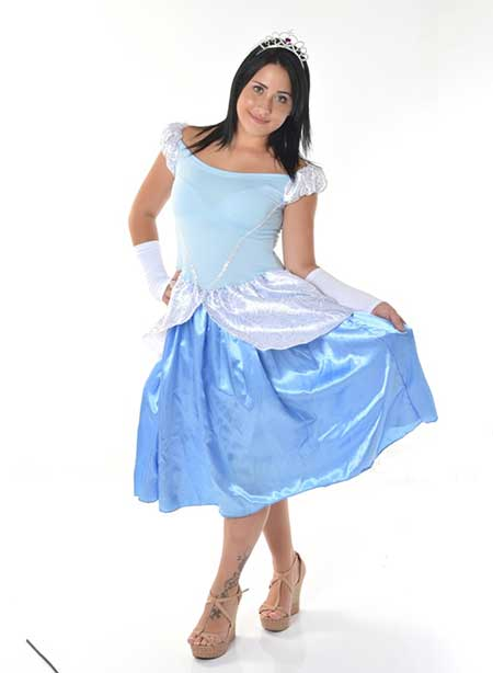 vestido médio