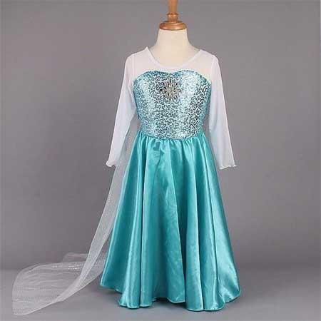 Modelos de Fantasias de Elsa Infantis
