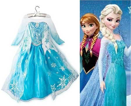 Dicas de Fantasias de Elsa