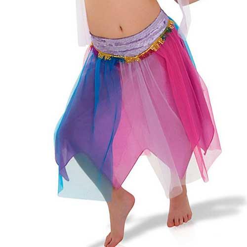 saia colorida