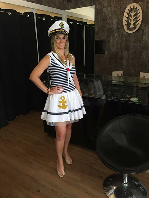 ce2e8ccf8 30 Fantasias de Marinheira para Festa e Carnaval + Tutorial Passo a ...