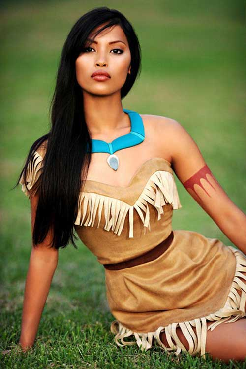 Pocahontas Coloring Page The Real